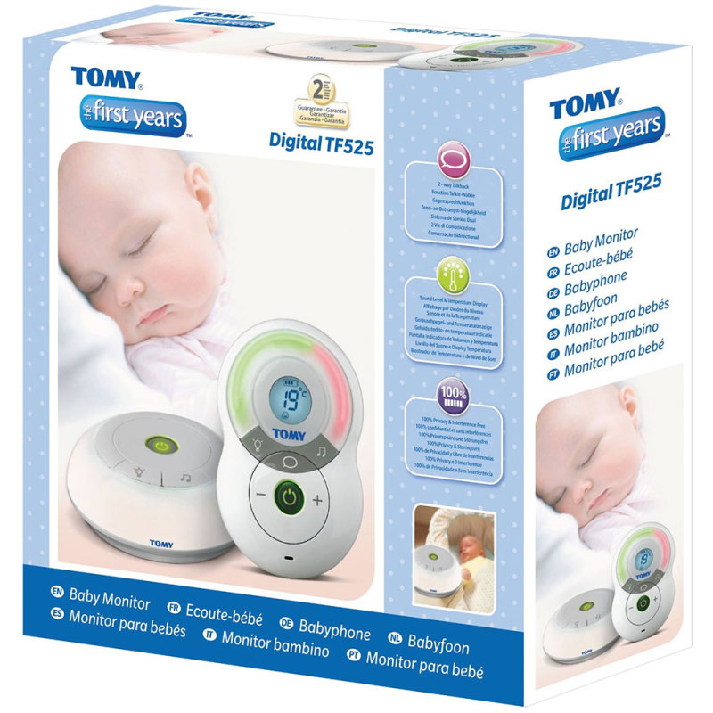tomy y7574 the first years digital baby monitor tf525 ebay. Black Bedroom Furniture Sets. Home Design Ideas